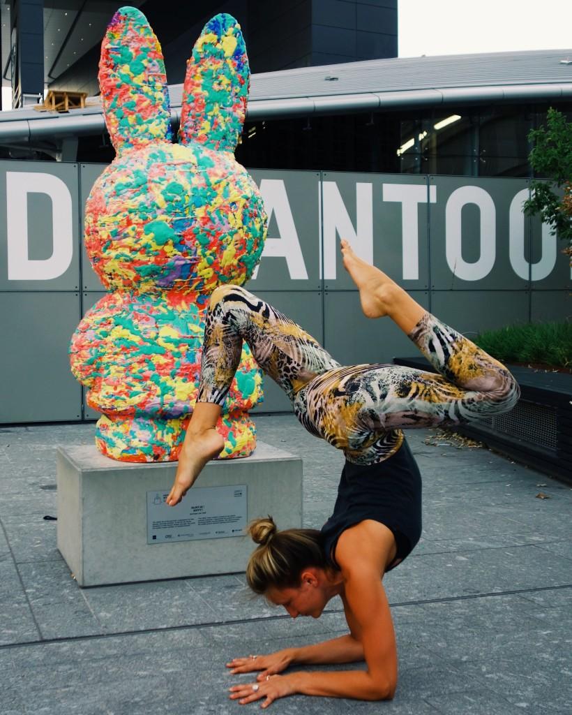 Nijntje en yoga: We do not quit playing because we grow old. We grow old because we quit playing